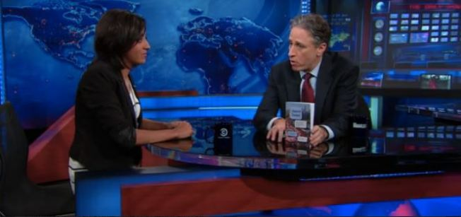 Tweets from Tahrir on the Daily Show